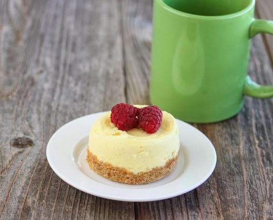 Microwave Cheesecake Mug Cake